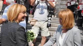 Маркет линкс: Манолова изпреварва Фандъкова в битката за София