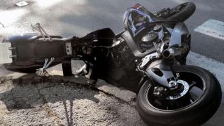 Катастрофа на пътя Котел-Омуртаг: Мотоциклетист пострада