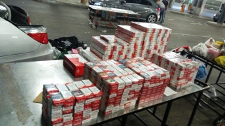 Митничари спипаха 300 000 къса цигари при проверки на територията на ТД Дунавска