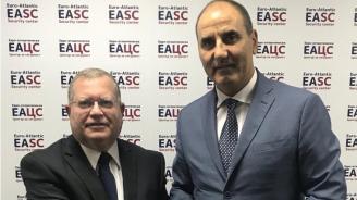 Цветан Цветанов се срещна с посланика на Израел Н.Пр. г-н Йорам Елрон