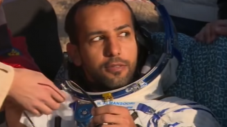 Първият космонавт на ОАЕ се върна на Земята