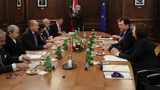 Румен Радев се срещна с председателя на Конституционния съд на Австрия