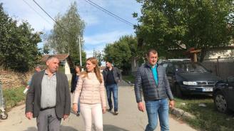 Николина Ангелкова: Кандидатът на ГЕРБ за кмет на Елин Пелин е човек на действията