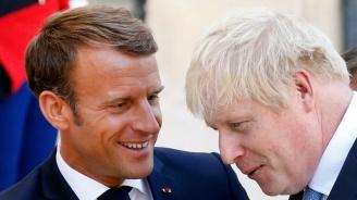 Борис Джонсън обсъди най-новите си предложения за Брекзит с Макрон