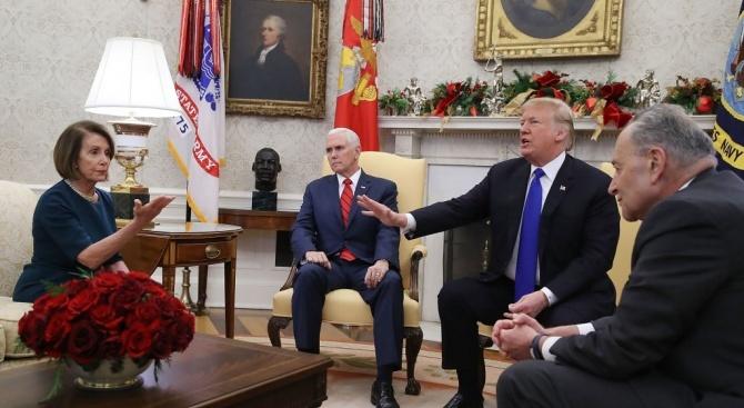 Президентът на САЩ Доналд Тръмп нападна жестоко председателят на Камарата