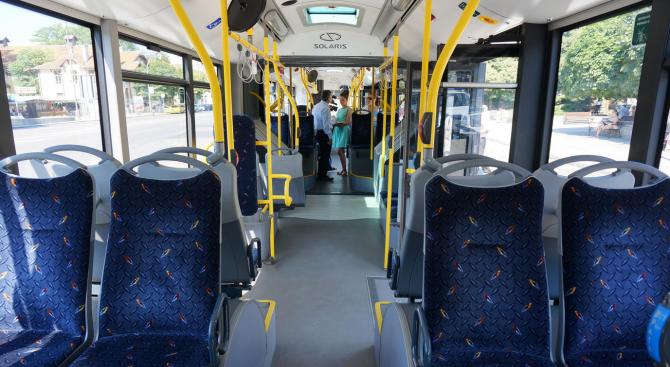 Общо 35 нови електрически автобуса и тролейбуса ще бъдат закупени