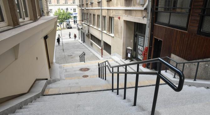 От днес най-малката улица в центъра на София – 60-метровата
