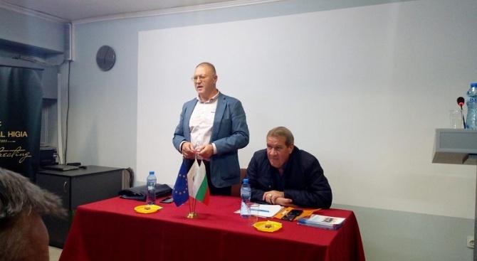 Кандидатът на ГЕРБ за кмет на община Пазарджик инж. Иван