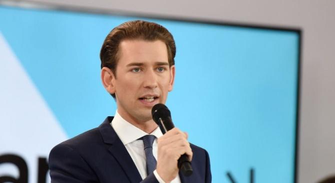 Консервативният лидер Себастиан Курц започна днес преговори с евентуални коалиционни