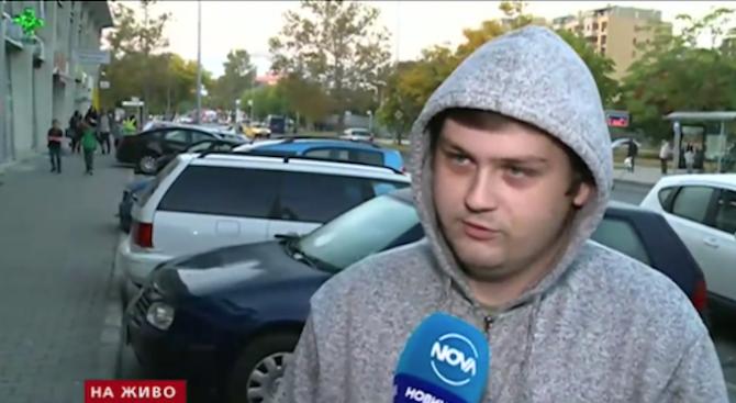 В сутрешния блок на Нова телевизия Атанас Петков, който е