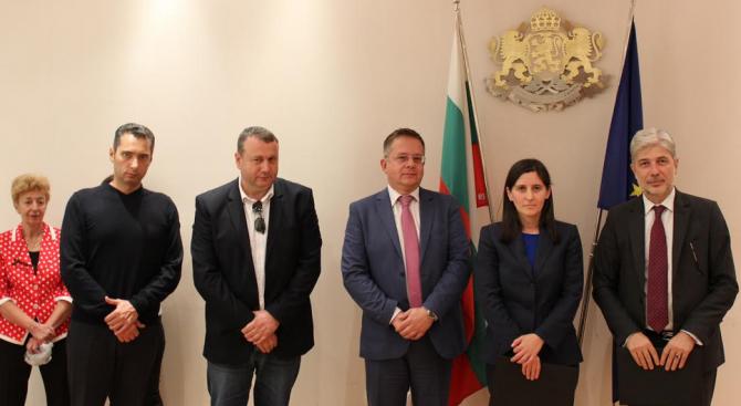 Министърът на околната среда и водите Нено Димов, изпълняващият длъжността