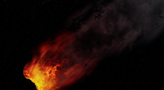Европейската космическа агенция съобщава, че голям астероид може да удари
