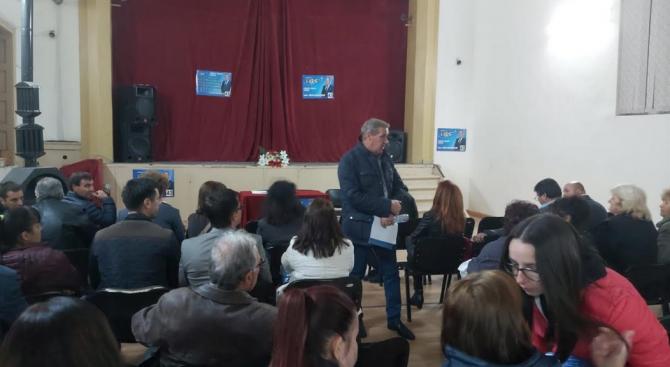 Иван Панайотов пред жителите на селата Црънча и Дебращица: Предлагаме всяко населено място в община Пазарджик да има собствен бюджет