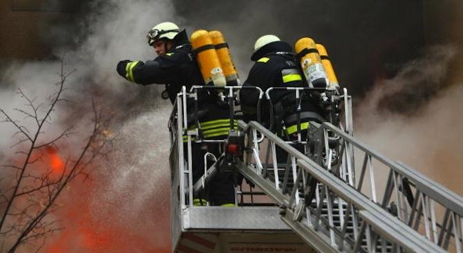 Над 192 тона фураж изгоряха при пожар в стопанство край Балчик