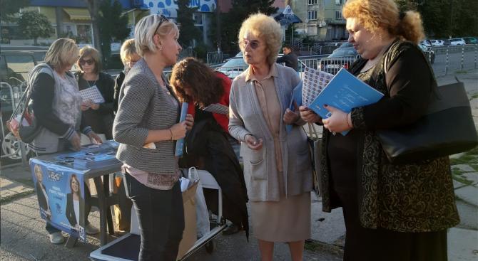 """Ева Митова: В ж.к. """"Суха река"""" са изградени 7 нови детски площадки"""