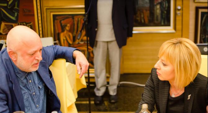Проф. Велислав Минеков: Разкъсването на лика на Мая Манолова е шаманизъм