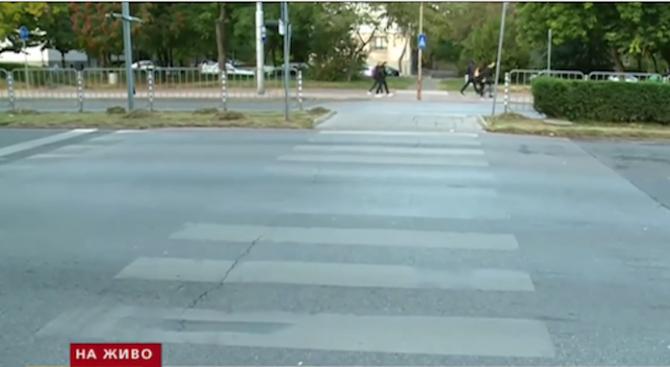 8-годишно дете беше блъснато от джип на пешеходна пътека в