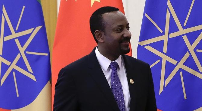 Премиерът на Етиопия Абий Ахмед Али е носителят на Нобеловата
