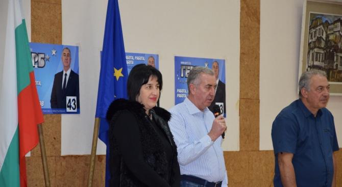 Кандидатът за кмет на община Видин от ГЕРБ Огнян Ценков