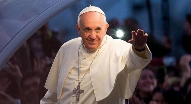 Папа Франциск е издигнал Апостолическата екзархия в София в ранг