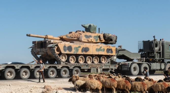 Турското министерство на отбраната съобщи днес, че турските сили са