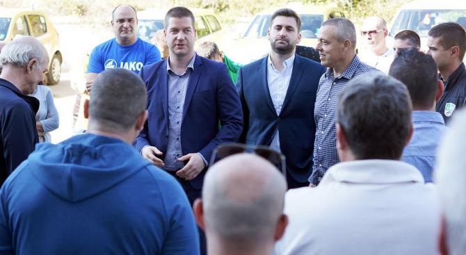 Кандидатът за кмет на Стара Загора от ГЕРБ Живко Тодоров
