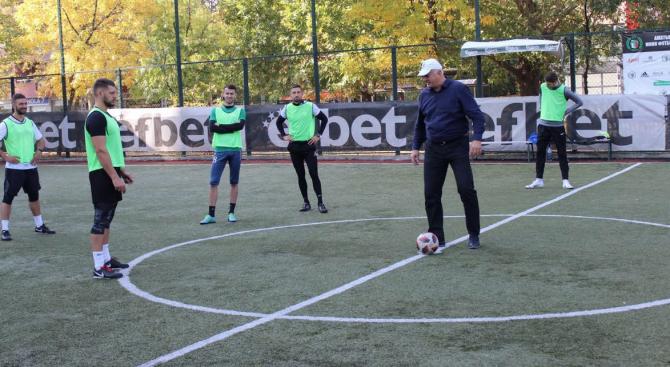 """Структурата на ГЕРБ в пловдивския район """"Западен"""" организира футболен турнир,"""