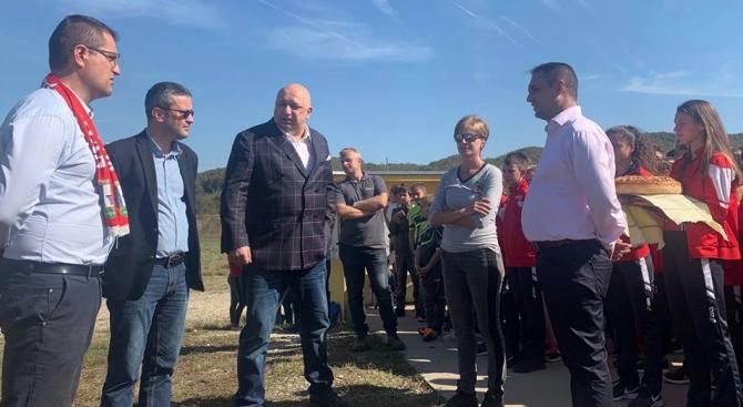 По покана на кандидата за кмет на община Троян Иван