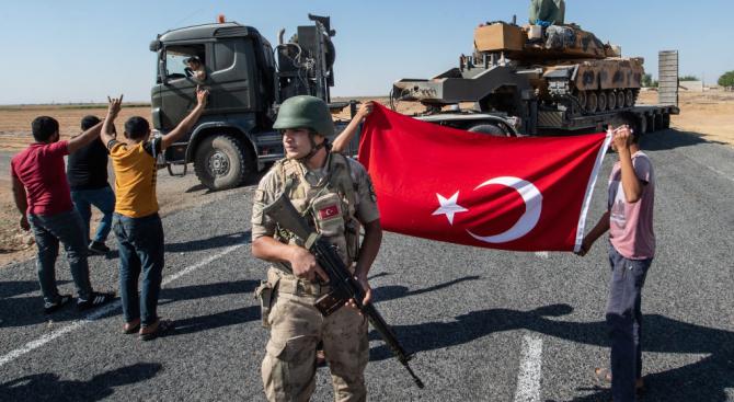 Турските въоръжени сили и техните съюзници от сирийската опозиция са