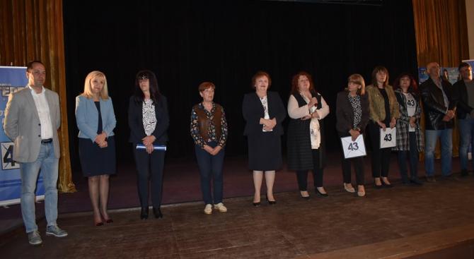 Над двеста души посрещнаха Калин Каменов, кандидатите за общински свъетници