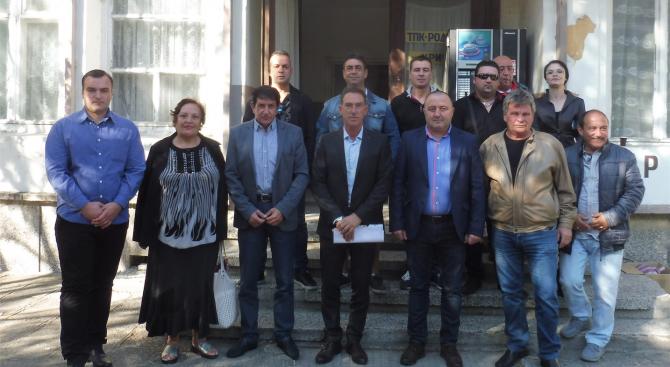 Кандидатът на ГЕРБ за кмет на Кричим Атанас Бъбаров се срещна с жители на общината