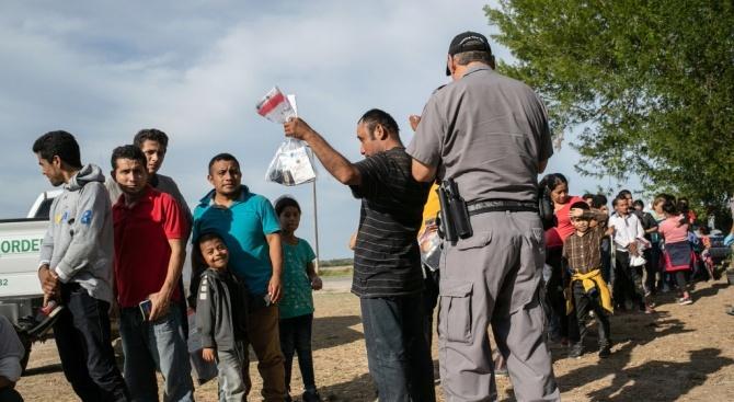 Полицията в Северна Македония съобщи, че патрул е открил 45