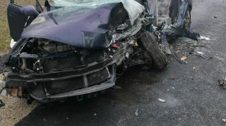 44-годишен загина след челен удар край Кюстендил