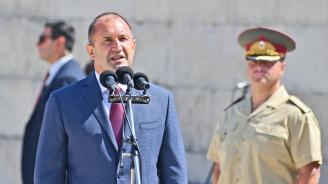 Румен Радев: Европейската интеграция на Северна Македония е в интерес на историческата истина и недопускане на междусъседски проблеми