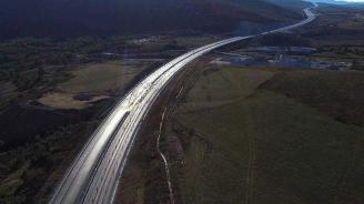 """Пускат движението по новия участък от магистрала """"Хемус"""" между Ябланица и Боаза"""