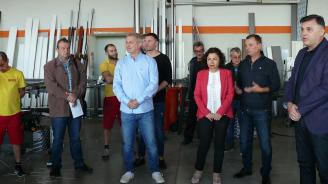 Мирослав Петров: Ще осигурим по-добри условия за бизнеса в Плевен