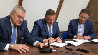 Кандидат-кметът на Благоевград от ГЕРБ д-р Атанас Камбитов подписа споразумение за сътрудничество с ПП АБВ