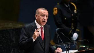 Ердоган: Турция няма да спре операцията си в Сирия, независимо от заплахите