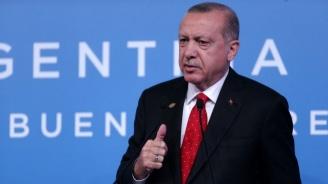 """Ердоган: Няма да прекратим операцията """"Извор на мира"""", докато не бъдат прочистени всички терористи"""