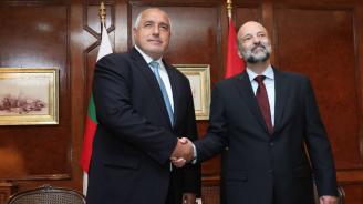 Борисов проведе среща на четири очи с премиера на Йордания