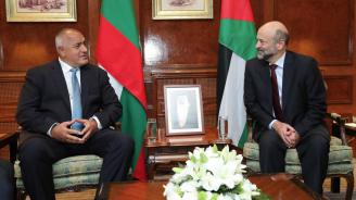 Министър-председателят Борисов се срещна с премиера на Йордания Омар Раззаз