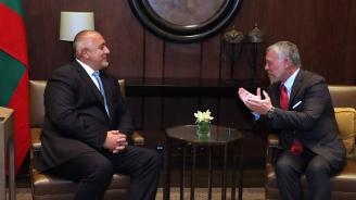 """Борисов и кралят на Йордания договориха домакинство на България по процеса """"Акаба""""  през 2020 година"""