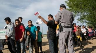 Полицията в Северна Македония откри 45 мигранти във ван