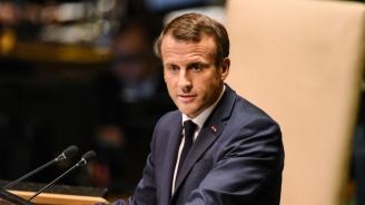 Макрон: Турското настъпление в Сирия може да създаде неудържима хуманитарна ситуация