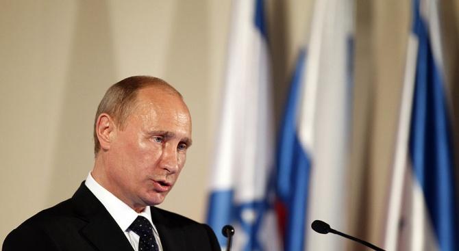 Израелският президент Реувен Ривлин помоли руския президент Владимир Путин да