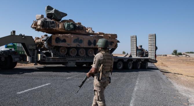 Сирийската армия се намесва, за да спре турската офанзива