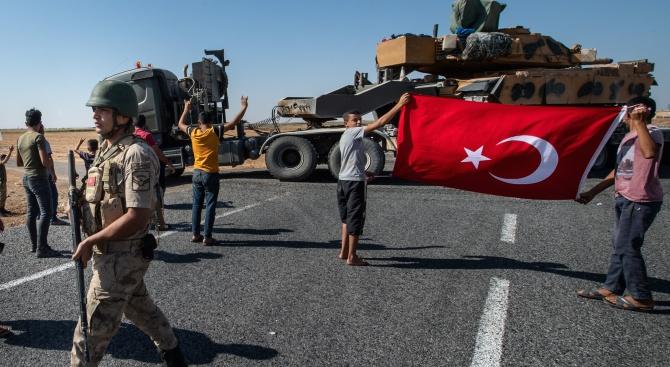 Подразделения на сирийската армия са влезли в северния град Табка,