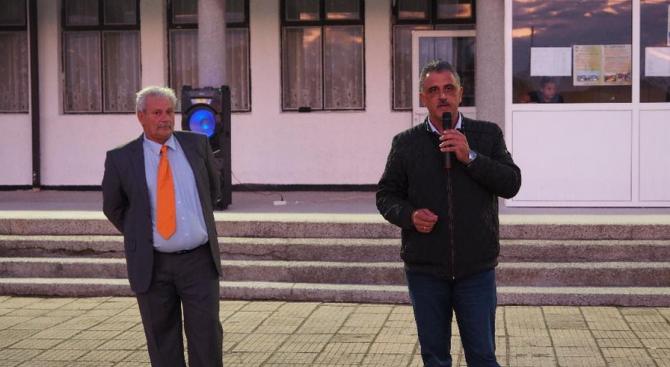 Кандидатът на коалиция ГЕРБ-Обединени земеделци за кмет на община Марица