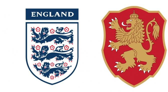Броени минути остават до мача България—Англия, който ще бъде игран