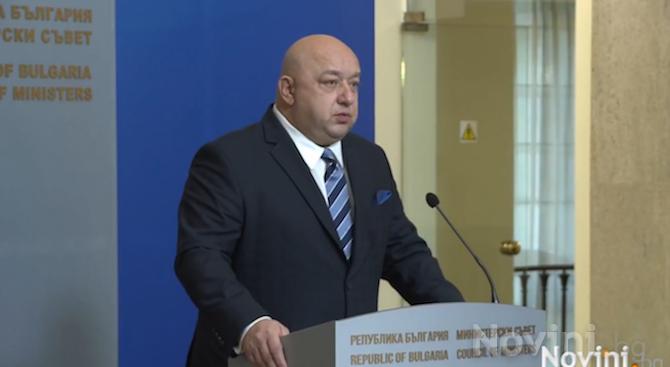 Правителството преустановява отношенията си с Футболния съюз до подаване на